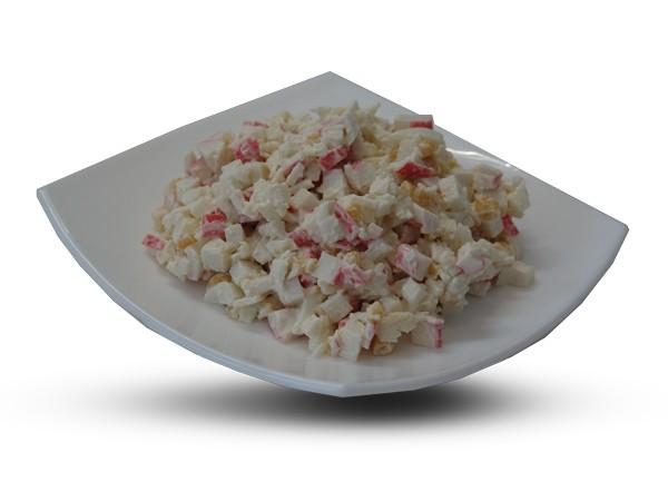 Салат из крабовых палочек с кукурузой, рецепт