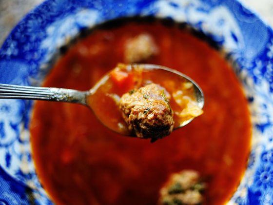 Суп с фрикадельками, рецепт