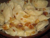 Вареники с картошкой, рецепт