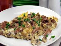 Яичная закуска с грибами